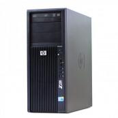 Workstation HP Z200 Tower, Intel Xeon Quad Core X3450 2.66GHz - 3.20GHz, 8GB DDR3, HDD 500GB, nVidia Quadro 2000/1GB, DVD-RW, Second Hand Calculatoare Second Hand