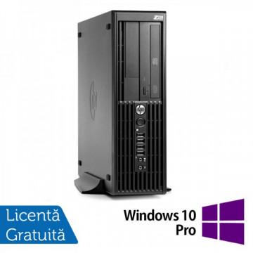 Workstation HP Z210 SFF, Intel Core i5-2400, 3.1GHz, 4Gb DDR3, 250GB SATA, DVD-RW + Windows 10 Pro Workstation
