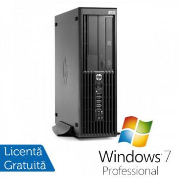 Workstation HP Z210 SFF, Intel Core i5-2400, 3.1GHz, 4Gb DDR3, 250GB SATA, DVD-RW + Windows 7 Professional Workstation