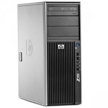 WorkStation HP Z400, Intel Xeon Quad Core W3520 2.66GHz-2.93GHz, 8GB DDR3, 500GB SATA, Placa Video nVidia Quadro FX580/512MB-128 biti, DVD-RW, Second Hand Workstation