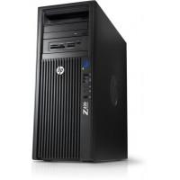 Workstation HP Z420, CPU Intel Xeon E5-1603 2.80GHz Quad Core, 16GB DDR3, 120GB SSD + 2TB HDD, nVidia Quadro 2000/1GB, DVD-RW