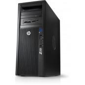 Workstation HP Z420, CPU Intel Xeon E5-1603 2.80GHz Quad Core, 16GB DDR3 ECC, 256GB SDD, nVidia GT610/1GB DDR3, DVD-RW, Refurbished Workstation