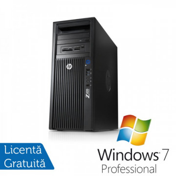 Workstation HP Z420, Intel Xeon E5-1620 3.6Ghz, 64Gb DDR3 ECC, 2x 2Tb SATA, DVD-RW, Nvidia Quadro 600 1GB DDR3 + Windows 7 Professional Workstation