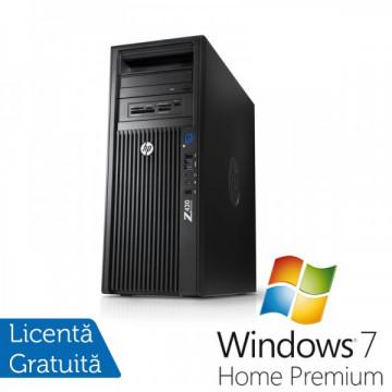 Workstation HP Z420, Intel Xeon E5-1620 3.6Ghz, 8Gb DDR3 ECC, 500Gb SATA, DVD-RW, Nvidia Quadro 600 1GB DDR3 + Windows 7 Home Premium Workstation