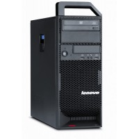 Workstation Lenovo ThinkStation S20 Tower, Intel Xeon Hexa Core X5650 2.66Ghz-3,06GHz, 8GB DDR3, SSD 120GB + 1TB HDD, nVidia NVS 315/1GB, DVD-RW