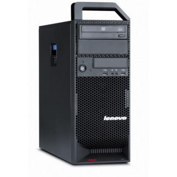 Workstation Lenovo ThinkStation S20 Tower, Intel Xeon W3550 3.06GHz, 4Gb DDR3, 500GB HDD, DVD-RW, Nvidia Quadro FX600 Calculatoare Second Hand