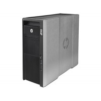 Workstation Refurbished HP Z820, 2x Intel Xeon E5-2660 V2 2.20GHz-3.00GHz DECA Core, 32GB DDR3 ECC, 1TB HDD + 240GB SSD, nVidia Quadro 4000 2GB GDDR5, 256 BIT + Windows 10 Pro
