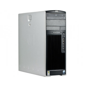 Workstation Second Hand HP XW6400, 2 x Intel XEON E5130, 2 GHZ, 4Gb DDR2 ECC, 73Gb SAS, CD-rom, NVIDIA QUADRO NVS 440 Calculatoare Second Hand