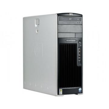 Workstation Second Hand HP XW6400, 2 x Intel XEON E5345, 2.33 GHZ, 4Gb DDR2 ECC, 80Gb SATA, DVD-Combo, NVIDIA QUADRO NVS 440 Calculatoare Second Hand