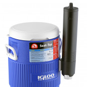 IGLOO 5 GALLON SEAT TOP WITH CUP DISPENSER Software & Diverse
