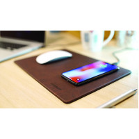 MINIBATT PowerPAD   Qi wireless charger mouse pad bro