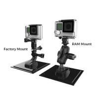 RAM® Ball Adapter for GoPro® Bases with Universal Action Camera Adapter
