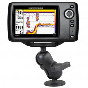 RAM® Drill Down Double Ball Mount for Humminbird Helix 5 Software & Diverse