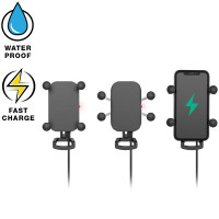 RAM Tough Charge with X Grip Tech Waterproof Wireless Charging Holder
