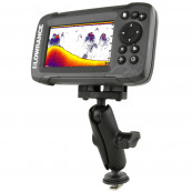 RAM® Track Ball™ Double Ball Mount for Lowrance Hook² & Reveal Series Software & Diverse