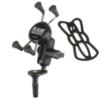 RAM® X Grip® Phone Holder with Motorcycle Fork Stem Base