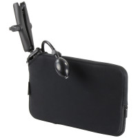 Suport RAM® Tough Wedge ™ cu braț dublu și pungă de expansiune cu husa