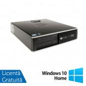 Calculator HP 8200 Elite SFF, Intel Core i5-2400 3.1GHz, 4GB DDR3, 250GB SATA, DVD-RW + Windows 10 Home Calculatoare Second Hand