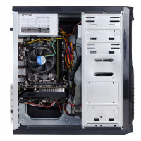 Sistem Gaming ILK-Pro, procesor Intel Pentium G4400 3.30 GHz, 8GB DDR4, HDD 2TB + SSD 240GB, Placa video Asus Radeon RX 580, DUAL-RX580-O8G, GDDR5 8GB, 256-bit