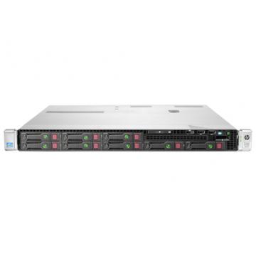 Server HP ProLiant DL360e G8, 1U, 2x Intel Octa Core Xeon E5-2450L 1.8 GHz-2.3GHz, 48GB DDR3 ECC Reg, 2x 600GB SAS/10k + 2x 900GB SAS/10k, Raid Controller HP SmartArray P420/1GB, iLO 4 Advanced, 2x Surse HS Servere second hand