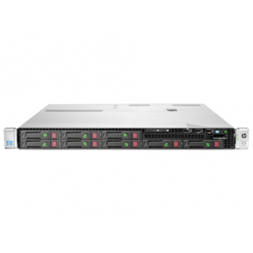 Server HP ProLiant DL360e G8, 1U, 2x Intel Octa Core Xeon E5-2450L 1.8 GHz-2.3GHz, 48GB DDR3 ECC Reg, 2x SSD 240GB SATA + 2x 900GB SAS/10k, Raid Controller HP SmartArray P822/2GB, iLO 4 Advanced, 2x Surse 750W HOT SWAP																					, Refurbished Se