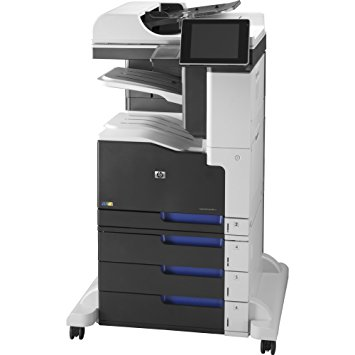 Multifunctionala HP LaserJet Enterprise 700 MFP M775, 30 PPM, 600 x 600 DPI, USB, RJ-45, A3, Duplex, Color + Stand cu roti