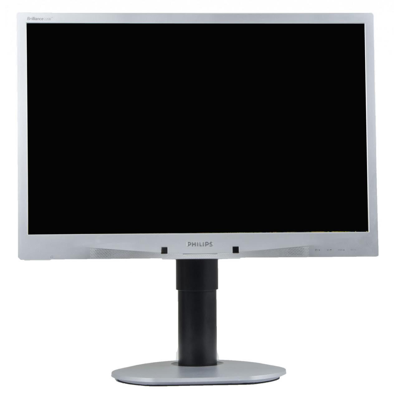 Monitor Philips 220BW, LCD, 22 inch, 1680 x 1050 dpi, Grad A-, Fara Picior