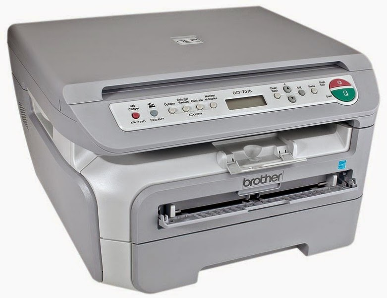 Multifunctionala Laser Monocrom Brother DCP-7030, A4, 22ppm, 2400 x 600, USB