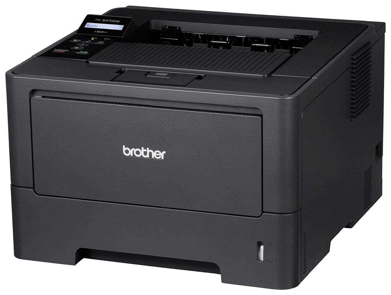 Imprimanta Laser Monocrom Brother HL-5470DW, 38PPM, Duplex, Wireless, USB, 1200 x 1200, A4