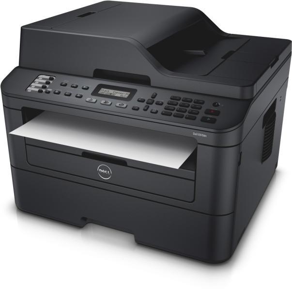 Multifunctionala Laser Monocrom Dell E515DN, 27 ppm, 2400 x 600, A4, Scanner, Copiator, Lipsa Suport Hartie ADF