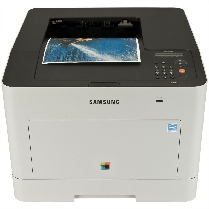 Imprimanta Laser Color Samsung CLP-680ND, Duplex, A4, 25ppm, USB, Retea