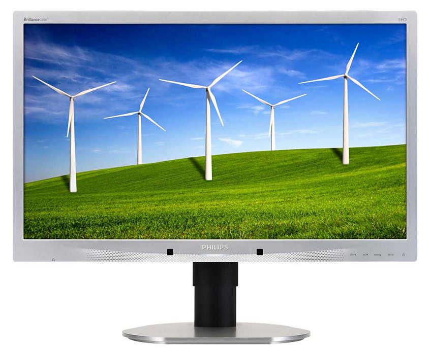 Monitor LED Philips 220B4LPCS, 22 inch, 1680 x 1050, VGA, DVI, Audio, USB