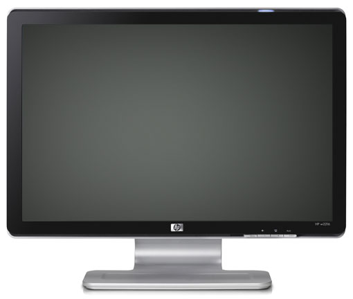Monitor HP W2216, 21.5 Inch LCD, 1680 x 1050, VGA, Fara picior