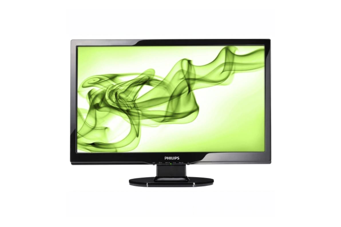 Monitor Philips 220EW, 22 Inch LCD, 1680 x 1050, VGA, DVI, Grad A-