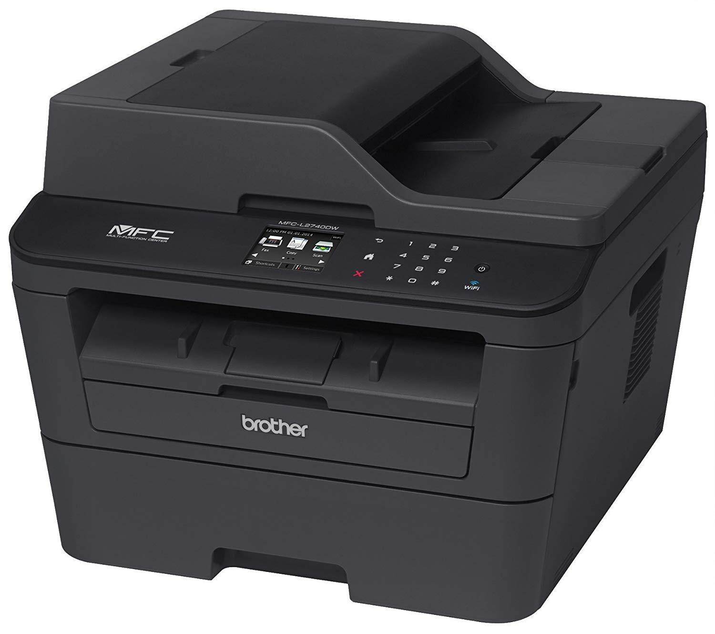 Multifunctionala Laser Monocrom Brother MFC-L2740DW, Fax, Copiator, Scanner, ADF, Duplex, A4, 30ppm, USB, Retea, Wireless