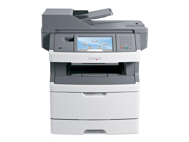 Multifunctionala Laser Monocrom Lexmark x464de, Imprimanta, Copiator, Scanner, Fax, USB 2.0, Retea