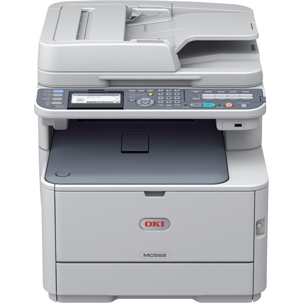 Multifunctionala Laser Color OKI MC562W, A4, 30ppm, 600 x 600 dpi, Fax Copiator, Scaner, USB, Retea, Wireless