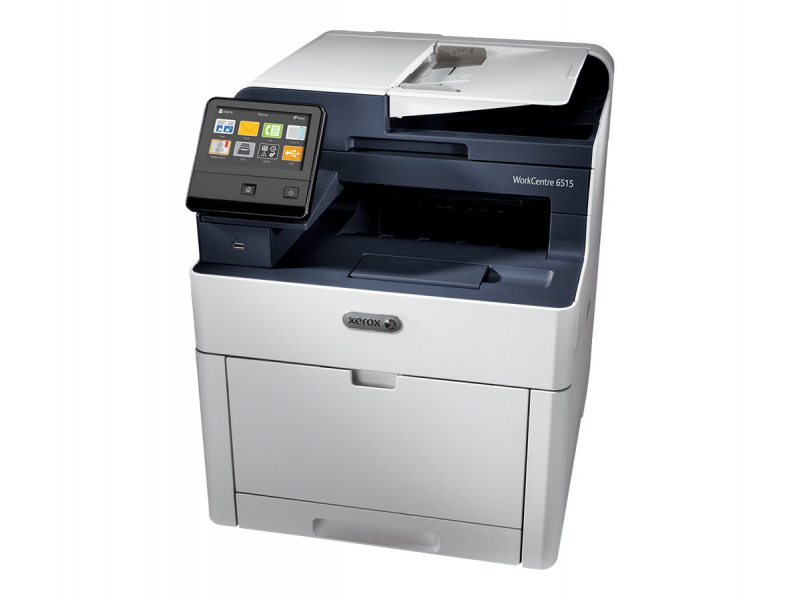 Multifunctionala Laser Color XEROX Workcentre 6515, A4, 30 ppm, 1200 x 2400 dpi, Copiator, Fax, Scanner, USB, Retea
