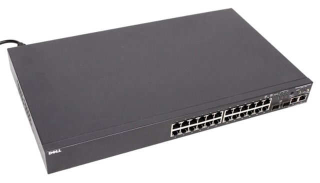 Switch Dell PowerConnect 3424 24-Port -10/100