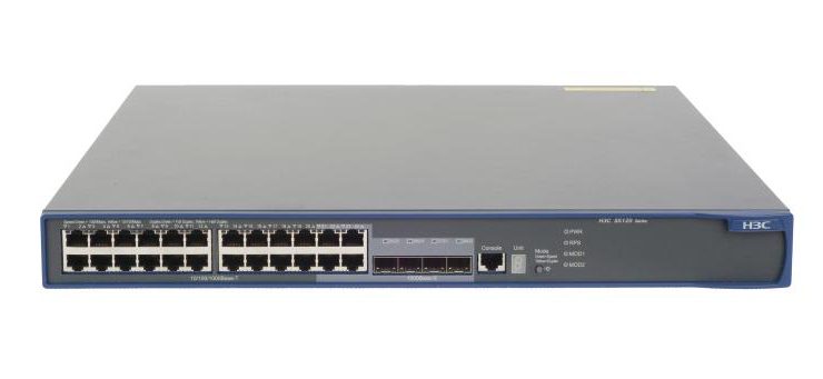 Switch Hpe 5120-24g Ei, 24-port With 2 Interface Slots, 10/100/1000