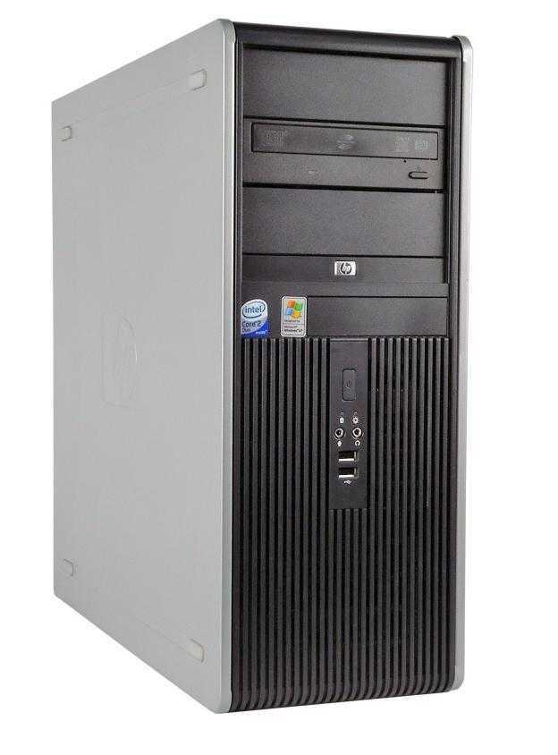 Calculator HP Compaq DC7900 Tower, Intel Core2 Duo E7500 2.93GHz, 4GB DDR2, 250GB SATA, DVD-ROM