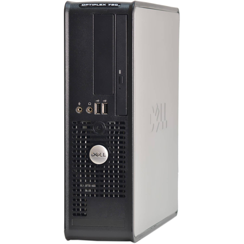 Calculator Dell 780 Desktop, Intel Pentium E5300 2.60GHz, 4GB DDR3, 320GB SATA, DVD-ROM