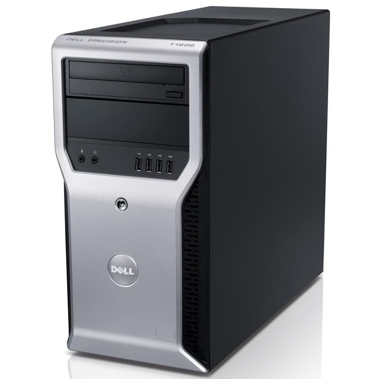 Workstation Dell Precision T1600, Intel Xeon Quad Core E3-1245 3.30GHz - 3.70GHz, 8GB DDR3, 500GB HDD, Intel Integrated HD P3000, DVD-RW