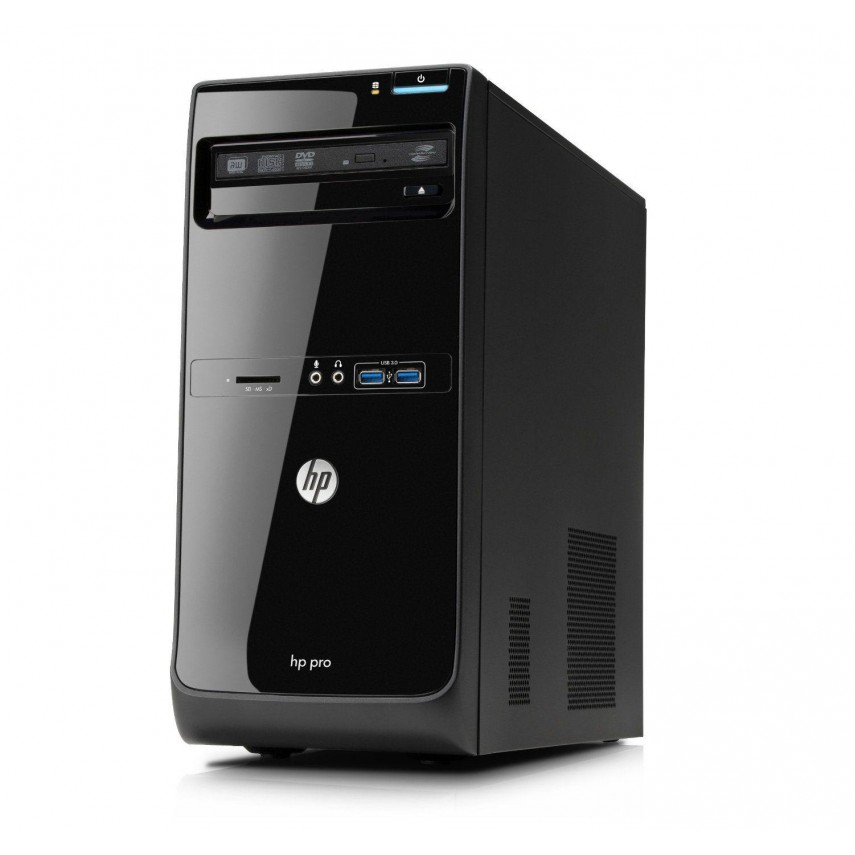 Calculator HP Pro 3500 Tower, Intel Core i5-3470 3.20GHz, 4GB DDR3, 250GB SATA, DVD-RW