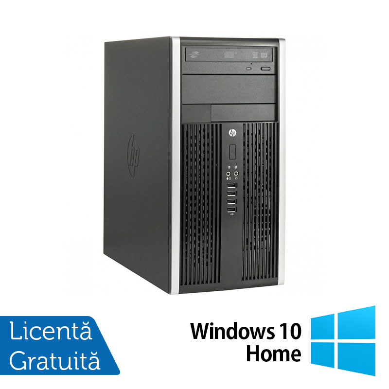 Calculator HP 8200 Tower, Intel Core i3-2100 3.10GHz, 4GB DDR3, 250GB SATA, DVD-ROM + Windows 10 Home (Top Sale!)