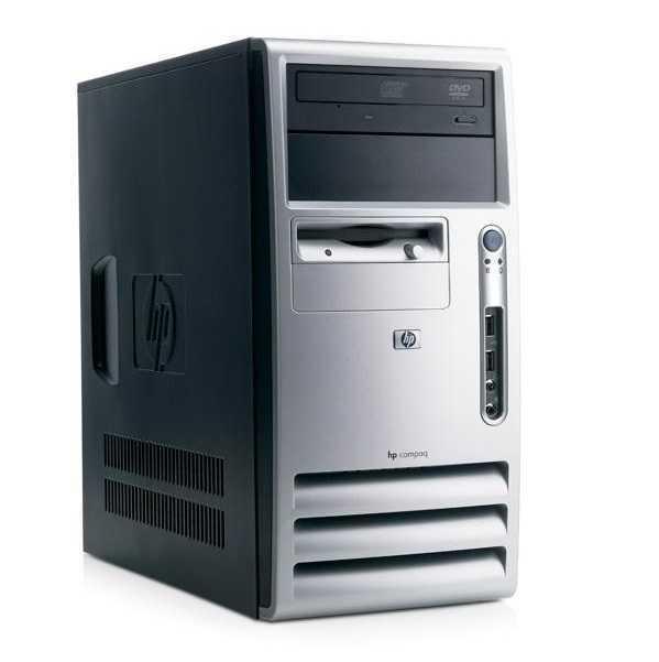 calculator hp dc5100, tower, intel pentium 4, 2.80 ghz, 2 gb ddr2, 80gb sata, dvd-rom