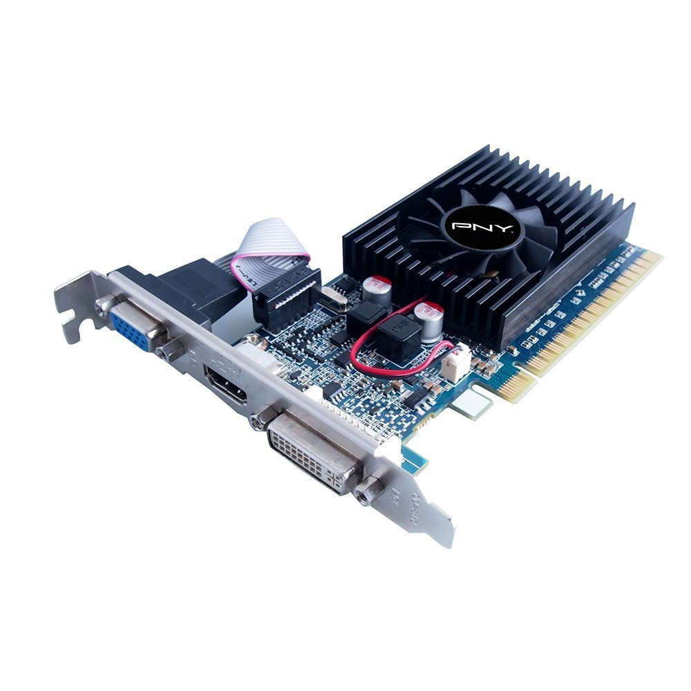 Placa video PNY Nvidia GeForce GT610 1GB GDDR3, VGA, DVI, HDMI, High profile