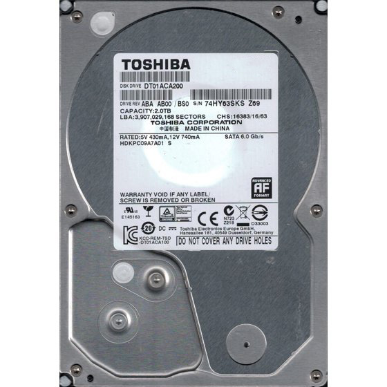 Hard Disk SATA 2TB 3.5 inch , Diverse modele