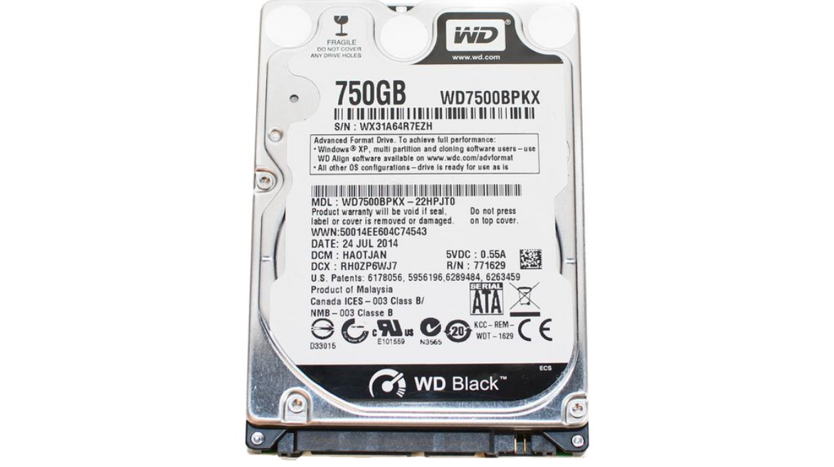 HDD 750GB, 2.5'' Laptop, 16MB Cache