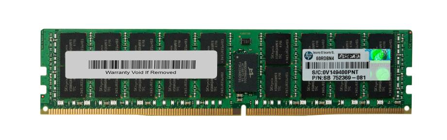 Memorie Server HP 16GB PC4-2133P 2Rx4 Server Memory 752369-081